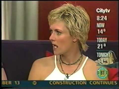Amanda Tapping on Breakfast TV 2002