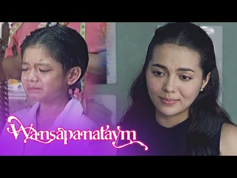 Wansapanataym: Bitoy breaks in tears upon learning that he is not Annika
