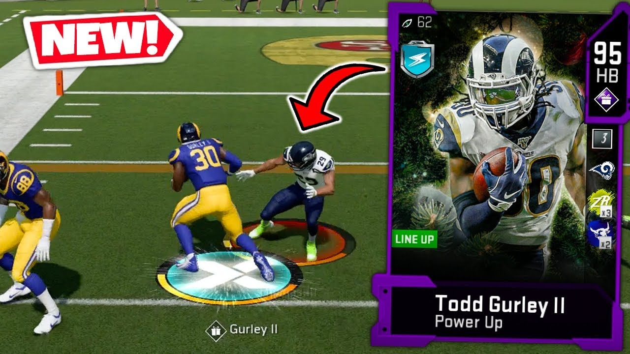 Todd Gurley Juking Breaking Every Defender Madden 20 Ultimate Team Youtube