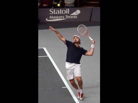 Henri Leconte, Goran Ivanisevic, Jeremy Bates, Wayne Ferreira-Statoil Masters Tennis 2012 Part 1