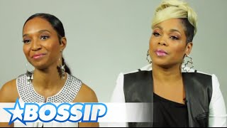 Chilli & T-Boz Talk Having More Kids & The TLC Movie | BOSSIP