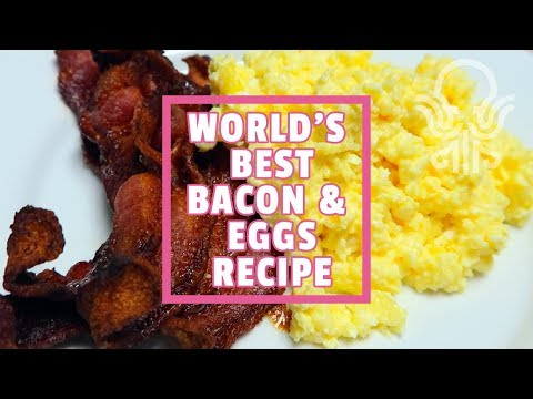 World's Best Bacon & Eggs Recipe (keto/low Carb)