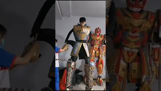 how to make costume robot SUN suit up