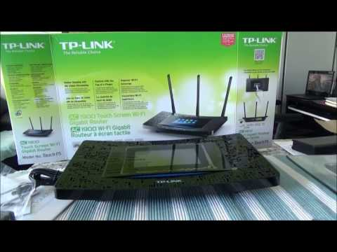 Touch Router TP Link AC1900 Touch Screen Wi Fi Gigabit Router Unboxing & Review by Ahmed Dawn