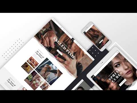Salon, Joomla template for beauty care, parlour, spa, and all related sites
