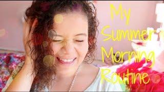My Summer Morning Routine! | Krazyrayray