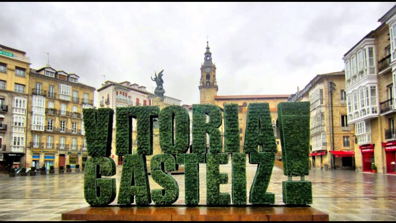 Vitoria Gasteiz, una ciudad en España - YouTube