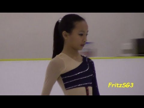 Su Chung Ting (Singapore) - 2012 Singapore National Figure Skating Competition
