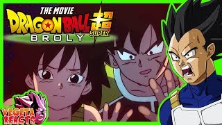 Vegeta Reacts To Dragon Ball Super: Broly Trailer 2 English Subbed