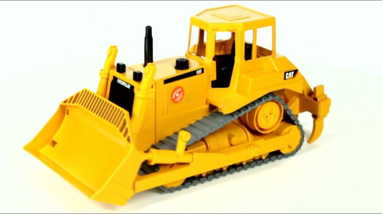 Cat Bulldozer Toy Video