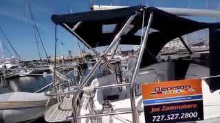 Hunter 36 Video Walkthrough by Joe Zammataro at Preferred Yachts