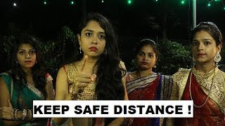 Keep Safe Distance | Navratri Special | With Eng Subs