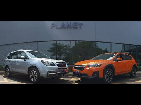 2018 Forester Vs Crosstrek