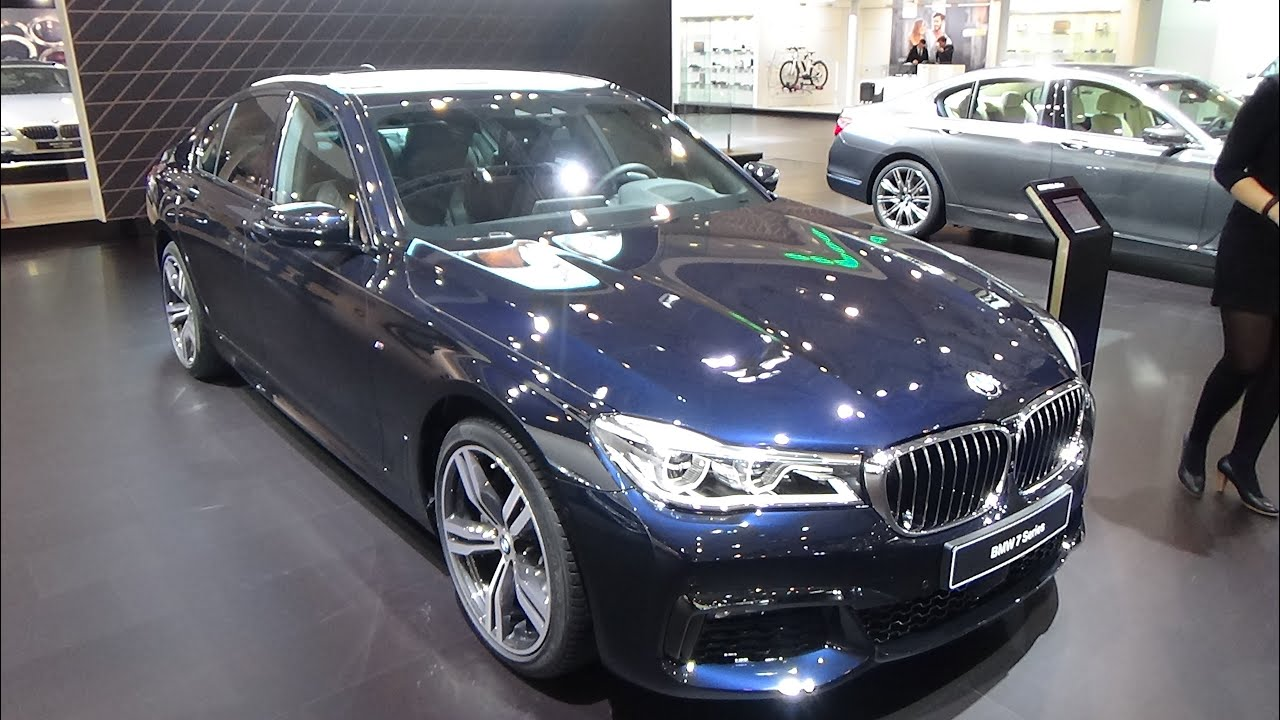 2016  BMW 740d xDrive  Exterior and Interior Auto Show Brussels