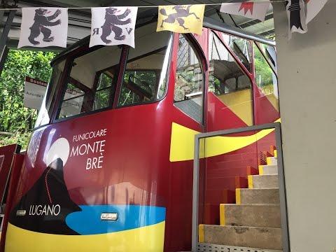 La Funicolare Monte Brè - Funicular Suisse Lugano Switzerland