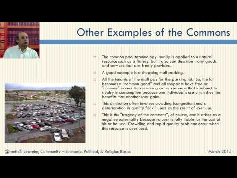 Telecommunications and the Commons - #38 in Net Neutrality Course