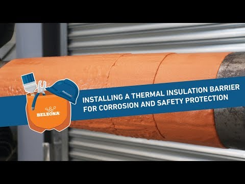 How To Install A Thermal Insulation Barrier For Corrosion And Safety Protection
