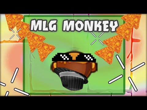 THE MLG MONKEY TOWER !! ONE SHOT ZOMGS WITH DORITOS ? - Bloons TD Battles HACKS/MODS
