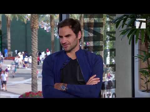 Roger Federer Indian Wells Lemonade