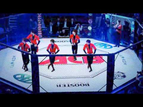 Лезгинка в клетке ASA STYLE на открытии Турнир АСВ 15 MMA HD