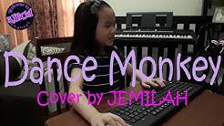 DANCE MONKEY Cover by JEMILAH   LYRIC VIDEO   3JBCEL