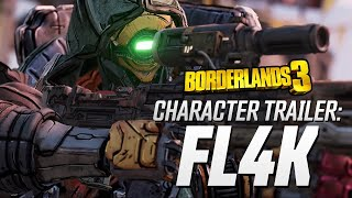 "Borderlands 3 - FL4K Character Trailer: ""The Hunt"""