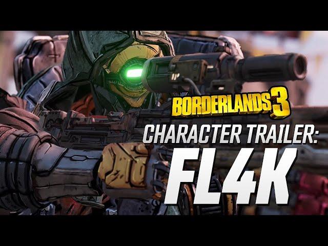 Borderlands 3: FL4K Skill Trees and Action Skills Revealed