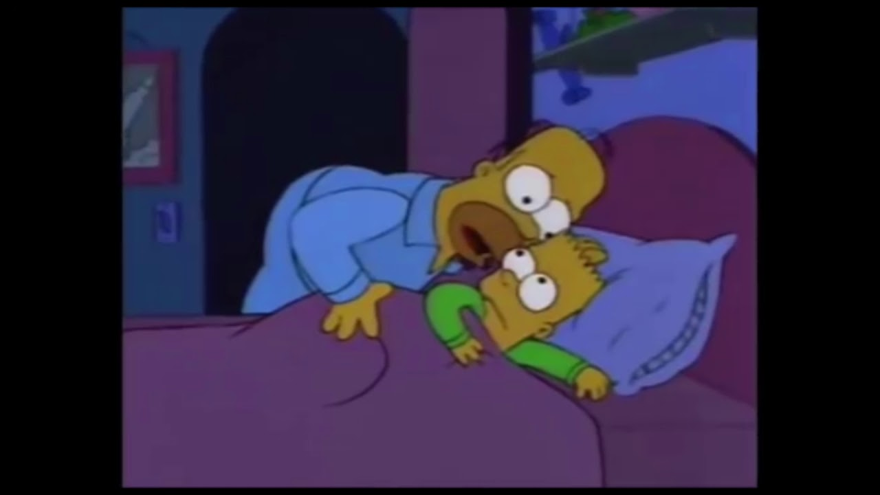 Bart I Don T Want To Alarm You Meme Template Youtube