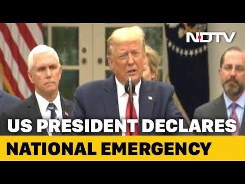 Coronavirus: Donald Trump Declares National Emergency In US - YouTube