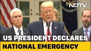 Coronavirus: Donald Trump Declares National Emergency In US