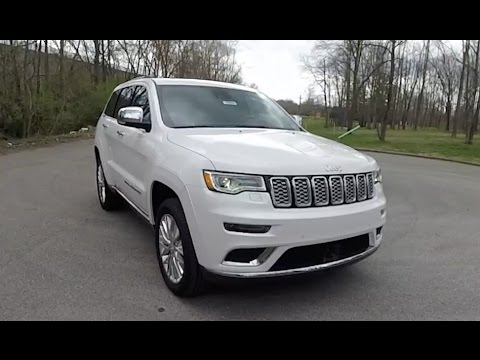 2017 jeep grand cherokee summit 4x4 walk around video in. Black Bedroom Furniture Sets. Home Design Ideas