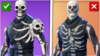 YOU have to CHANGE THAT! All Skins Upgrade Update Idea Backpack Game|| Fortnite Battle Royale