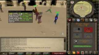 RuneScape 2007 Staking with Archuh - Turning 100k into 40M+ within a day