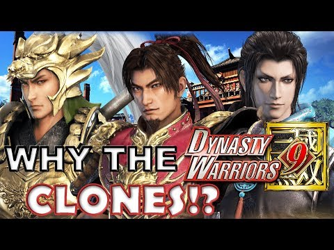 Dynasty Warriors 9 - Sun Ce CLONE of Zhou Cang OHMYGODSEEKERS!