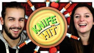 LANCER DE COUTEAU ! | KNIFE HIT FR
