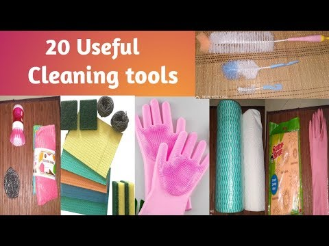 20-useful-kitchen/home-cleaning-tools-for-clean-home-|-cleaning-tips-&-tricks-tamil