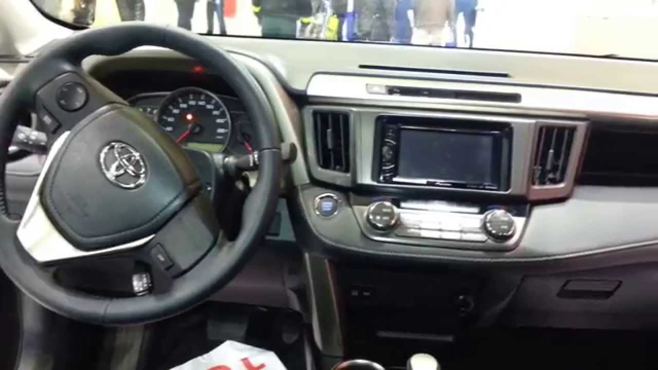 Wonderful Toyota RAV4 2015 Video Interior Colombia Photo