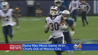 Report: Rams-Chiefs Mexico City Game At Risk Due To Poor Field