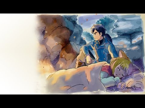 Ni no kuni 2  END CREDIT MUSIC AND BEAUTIFUL ART