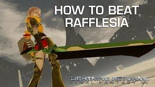 Lightning Returns: Final Fantasy 13 - Rafflesia Gameplay