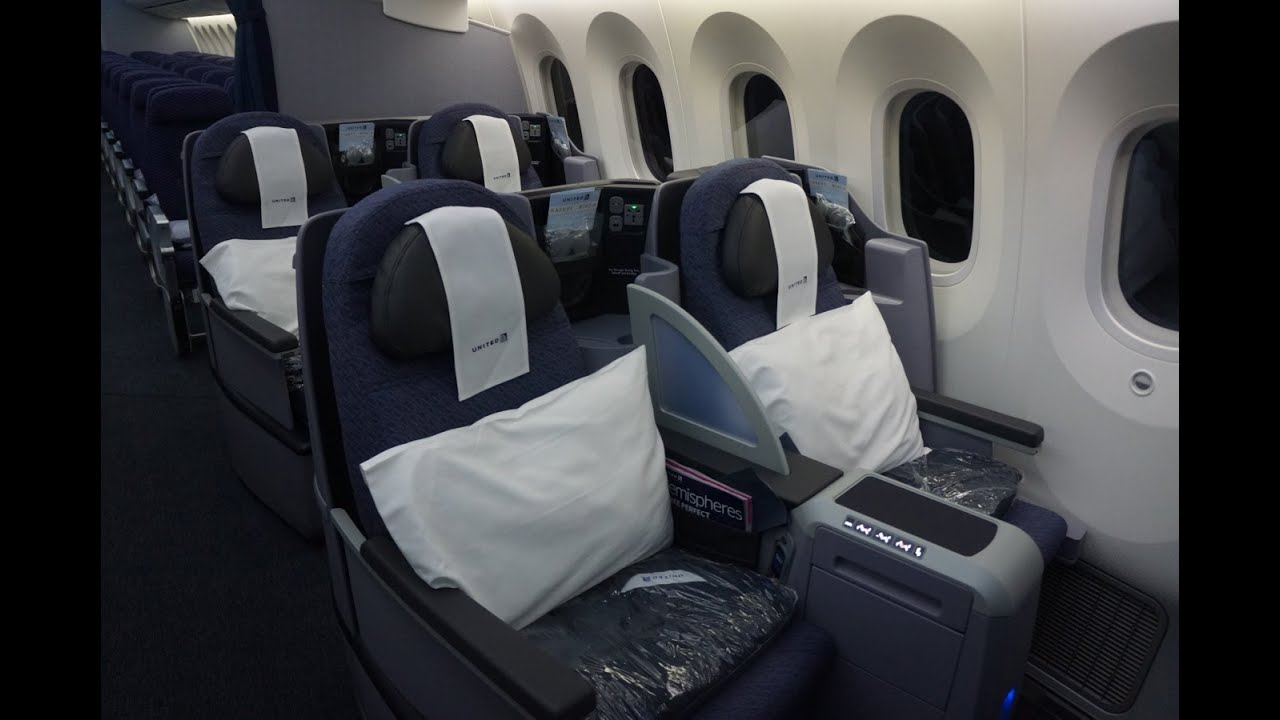 2016 United 787 9 Delivery Brand New Full Interior Video