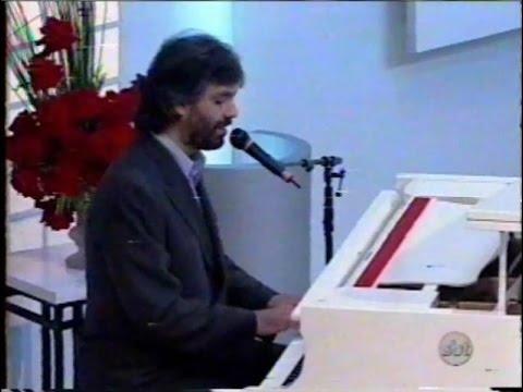 Andrea Bocelli Na Hebe.   Sogno
