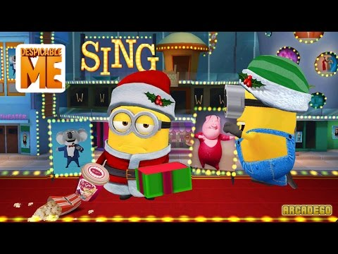Despicable Me Minion Rush New Special Mission Piggy Power! Musical Notes, Microphones, and Vinyl