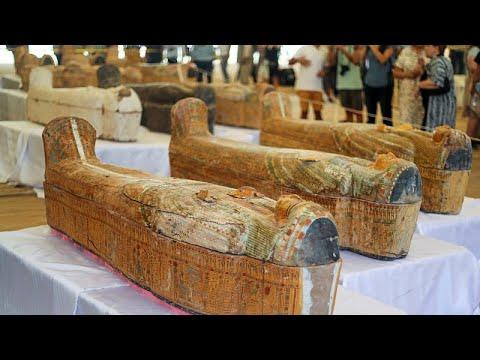 كنز أثري كبير يكشف عنه في مصر.. 30 تابوتا فرعونيا