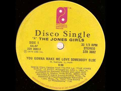 "The Jones girls - You gonna make me love somebody else (1979) 12"" vinyl"