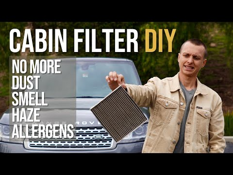 DIY: How to Change Cabin Pollen Air Filter on Range Rover and RR Sport 2013-2021 in 2 minutes!