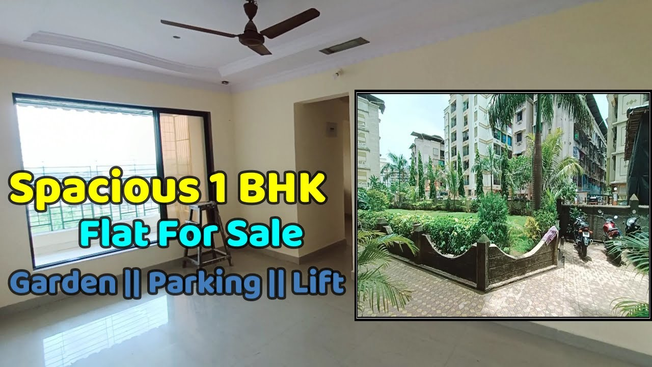 Spacious 1 BHK  Terrace Flat  for Urgent Sale    Garden, Parking, Lift, Solar and  Many More
