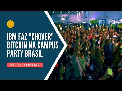 "IBM faz ""chover"" Bitcoin na Campus Party Brasil"