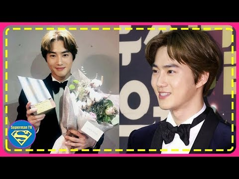 Fans Are Loving EXO Suho's Winning Speech At [Yegreen Musical Awards]... You Know Why