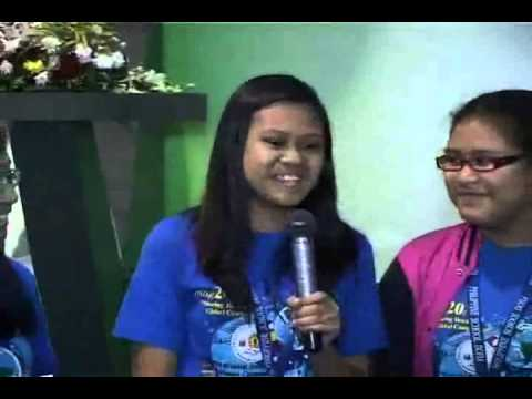 Philippine School of Doha - Blue T-Shirt - Interview  Part 2